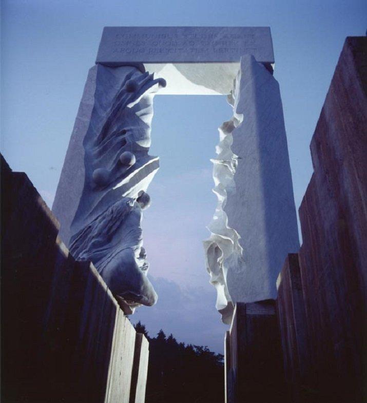 Porta d'Europa di Francesco Somaini