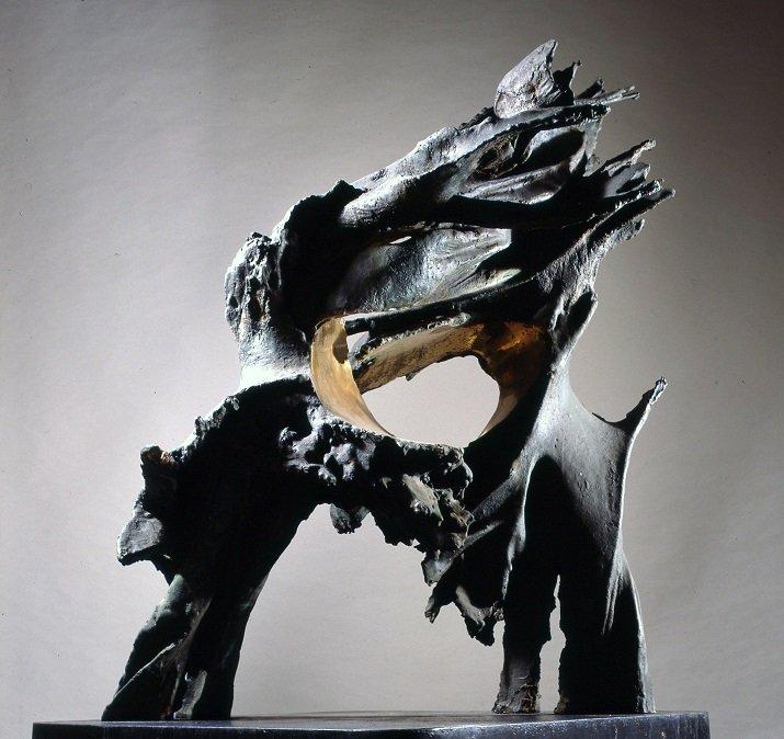 Figura di fuoco. Prometeo di Francesco Somaini