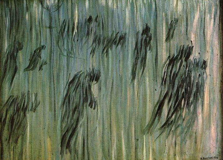 """""""Stati d'animo"""" di Boccioni. Quelli che restano 1911"""