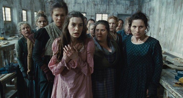 Hugh Jackman Anne Hathaway Russel Crowe Amanda Seyfried