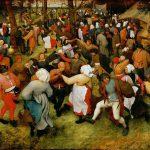 """""""Danza nuziale"""" di Pieter Bruegel il Vecchio"""