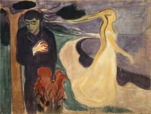 """""""Separazione"""" di Munch. Il dolore straziante di un addio"""
