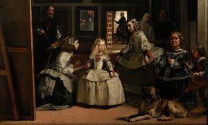 """""""Las Meninas"""" di Diego Velazquez gioca in un riflesso di specchi"""