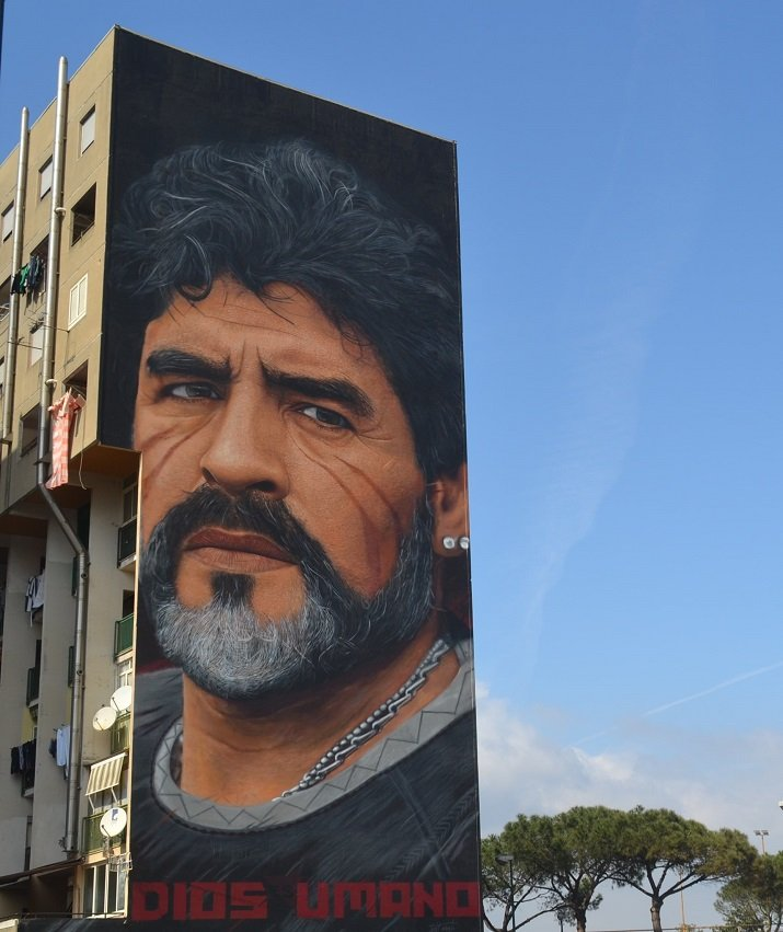 Jorit. Maradona