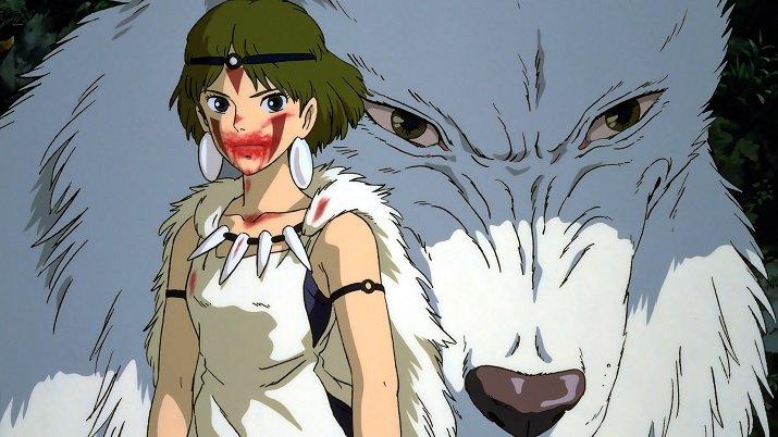 Principessa Mononoke di Miyazaki