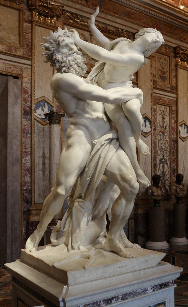 """""""Ratto di Proserpina"""" di Gian Lorenzo Bernini"""