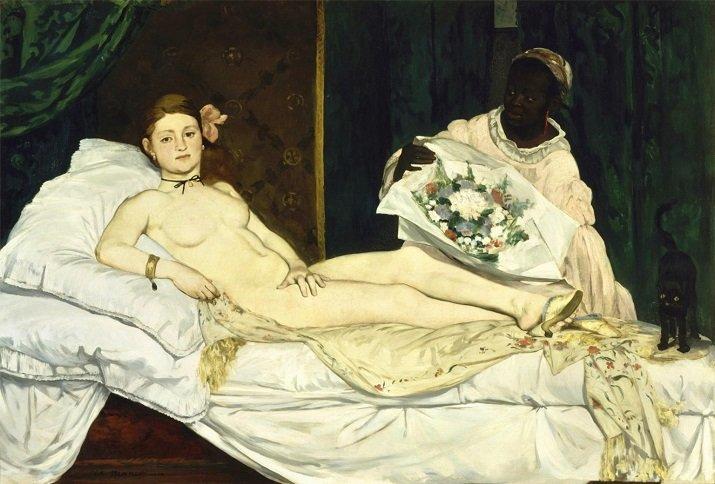 """""""Olympia"""" di Manet"""