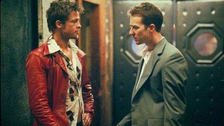 Tyler Durden. Brad Pitt