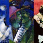 Gli amanti di Marc Chagall