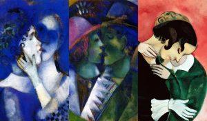 Gli amanti di Chagall. Tutti i colori dell'amore per Bella Rosenfeld