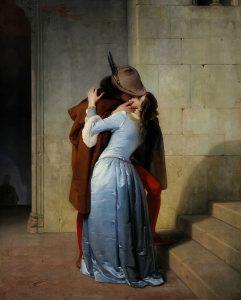 """""""Il bacio"""" di Hayez. Icona romantica e politica dell'Italia in 3 opere"""
