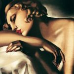 """""""La Dormiente"""" di Tamara De Lempicka"""
