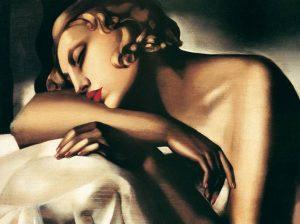 """""""La Dormiente"""" di Tamara De Lempicka. Donna forte e sensuale"""