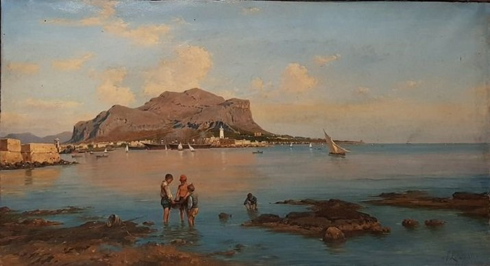 Marina di Palermo di Francesco Lojacono