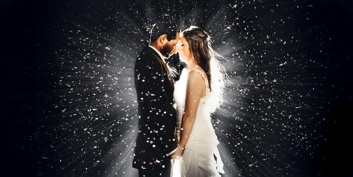 "Fotografia di matrimonio. ""The snow in the parking"" di Clane Gessel"