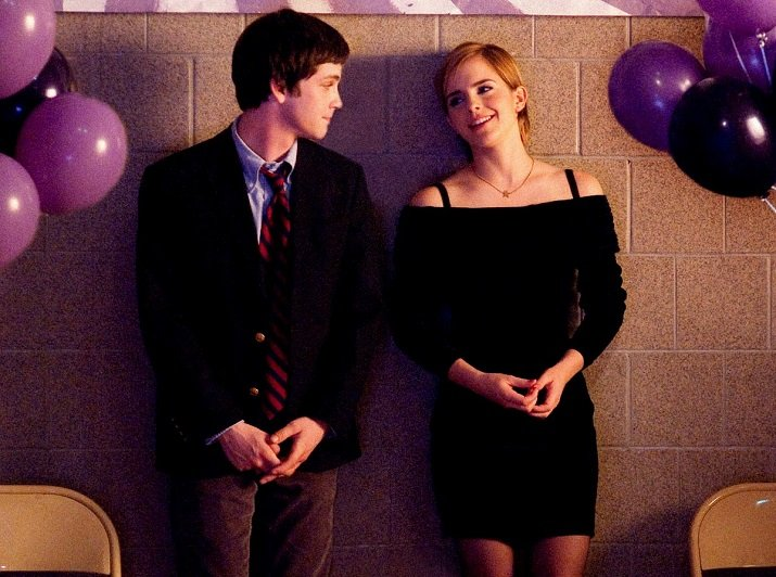 Logan Lerman e Emma Watson