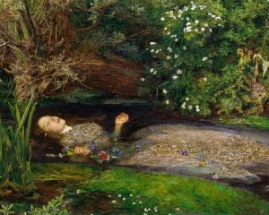"""""""Ophelia"""" di Millais"""