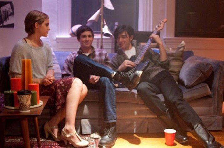 Logan Lerman e Ezra Miller e Emma Watson