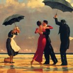 """The singing butler"" di Jack Vettriano"