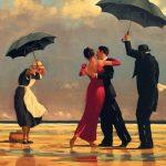 """The singing butler"" di Jack Vettriano"