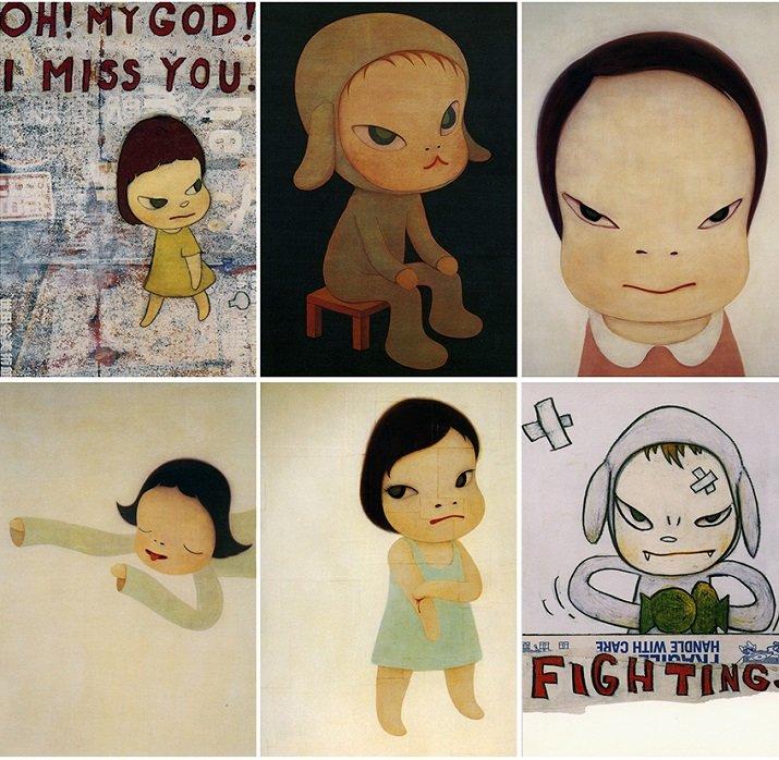 Compilation di Yoshimoto Nara