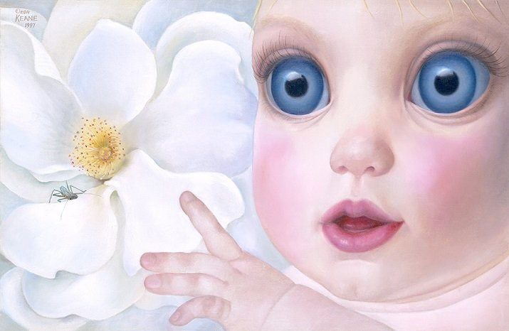Big Eyes di Margaret Keane. Inquisitive