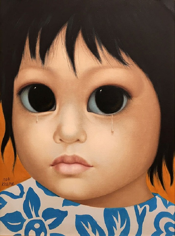 Big Eyes di Margaret Keane. Frustation