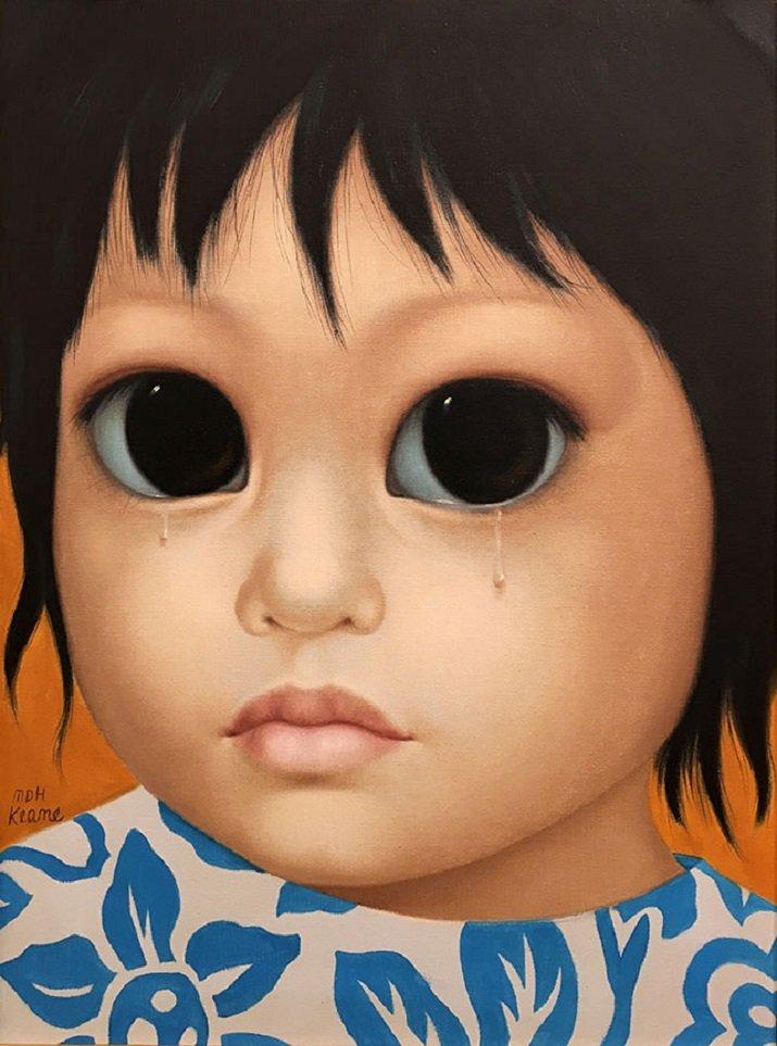 Big Eyes di Margaret Keane. Frustation