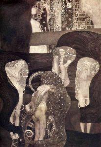 I Quadri delle Facoltà. La Giurisprudenza di Klimt