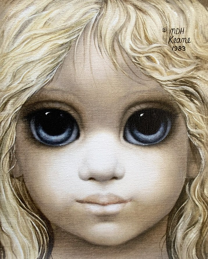 Big Eyes di Margaret Keane. Golden Girl