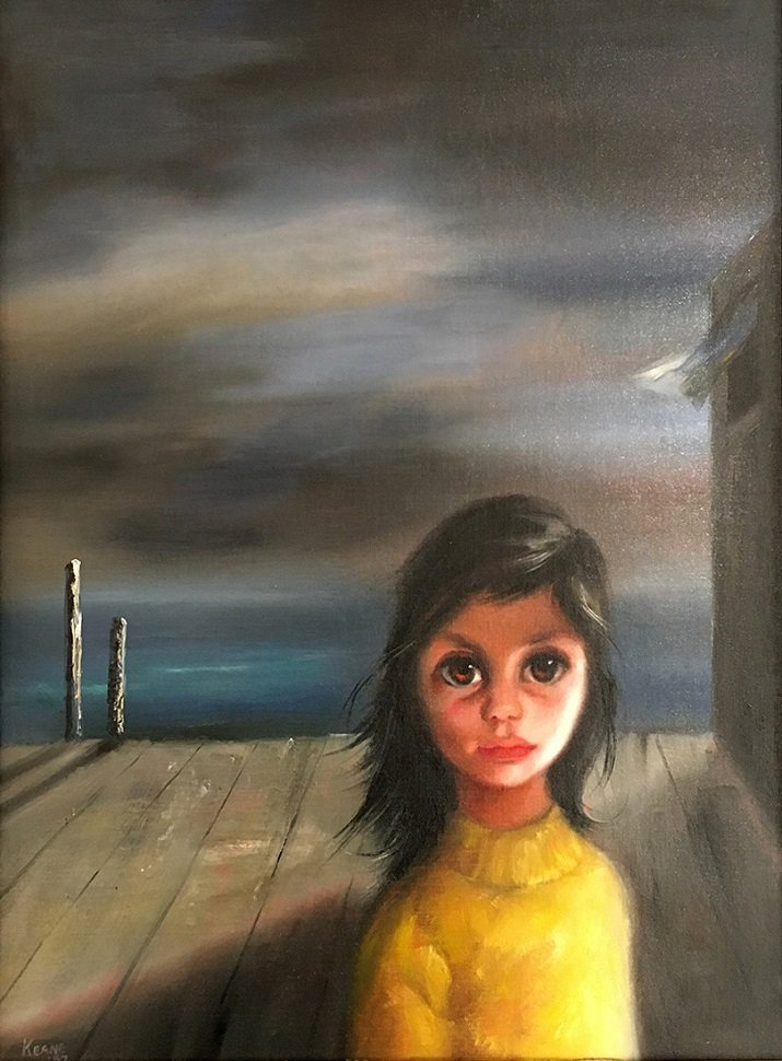 Big Eyes di Margaret Keane. Home alone