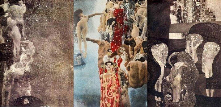 I Quadri delle Facoltà di Klimt