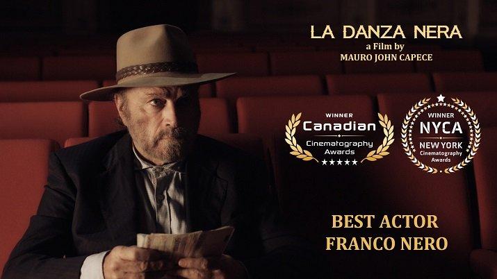"""""""La Danza Nera""""  con Franco Nero"""