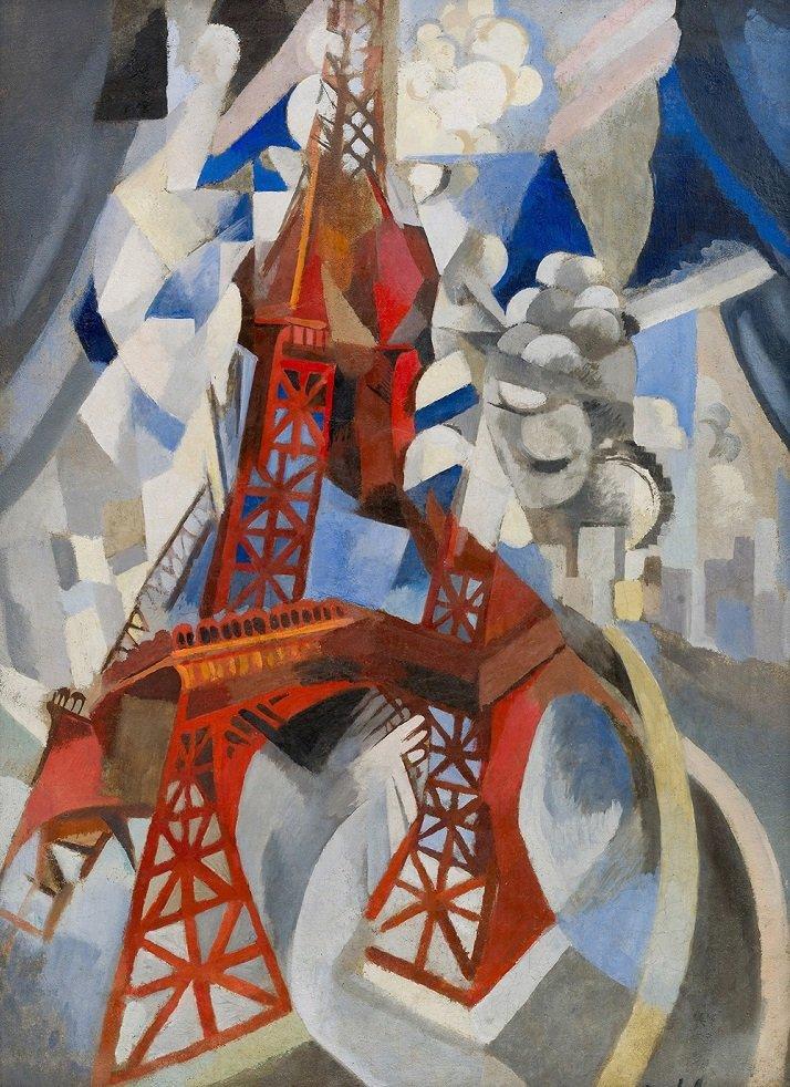 La Torre Eiffel di Robert Delaunay. Cubismo Orfico