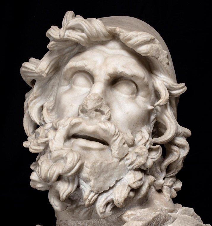 Testa di Ulisse a Sperlonga