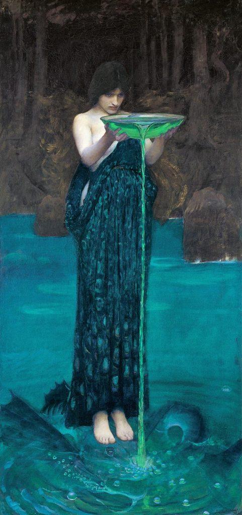 """""""Ulisse. L'arte e il mito"""" . Circe invidiosa di Waterhouse"""