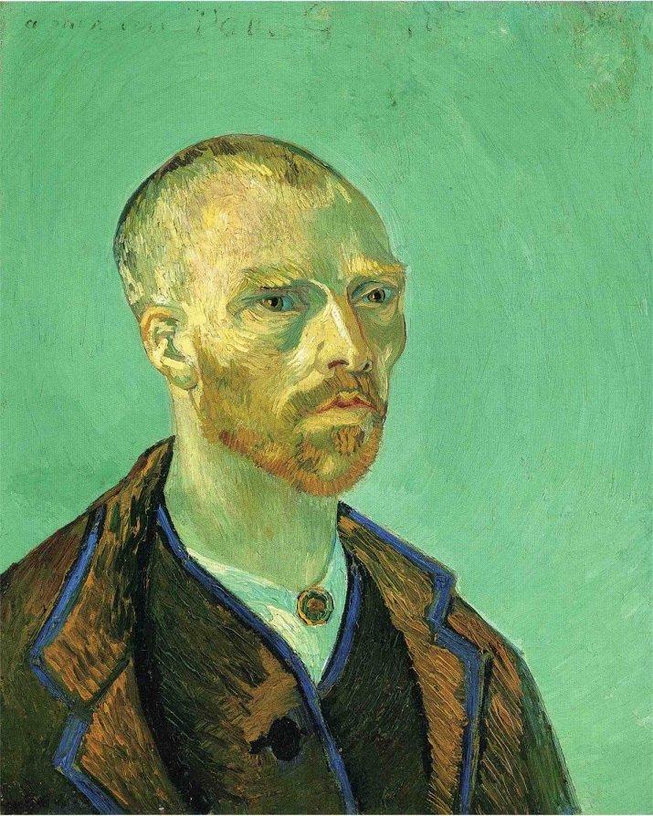 Autoritratto dedicato a Paul Gauguin di Vincent van Gogh