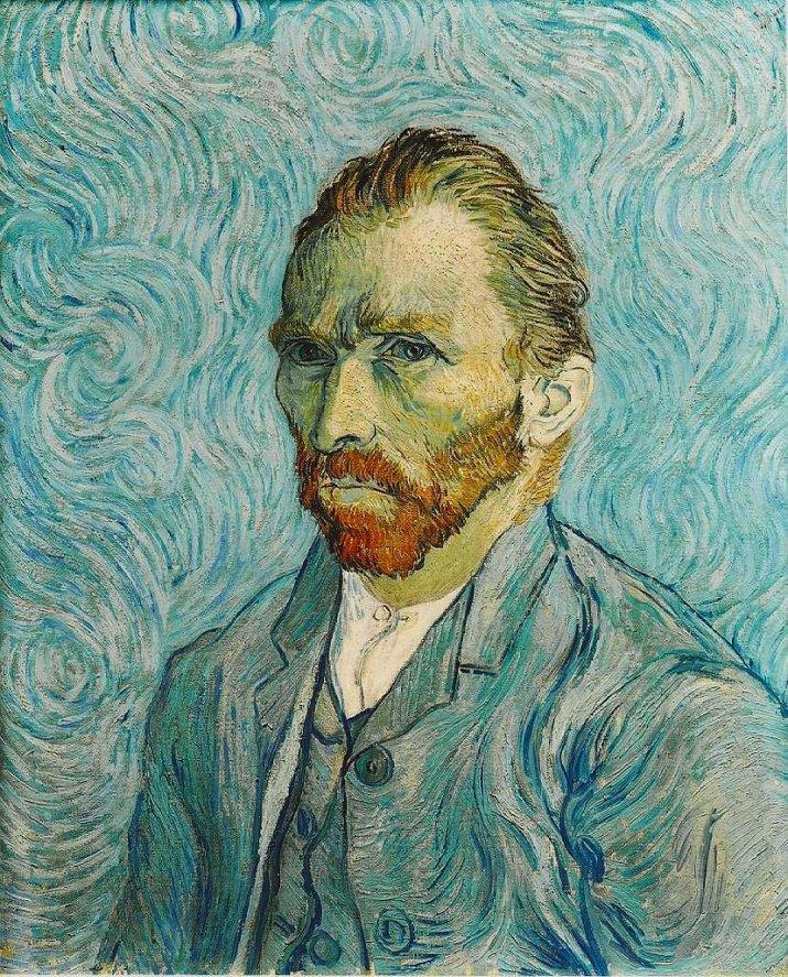 Autoritratto di Vincent van Gogh 1889