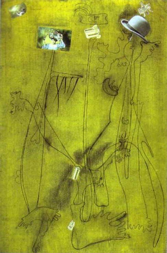 Disegno Collage di Mirò