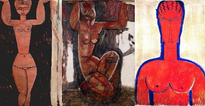 Le Cariatidi di Modigliani