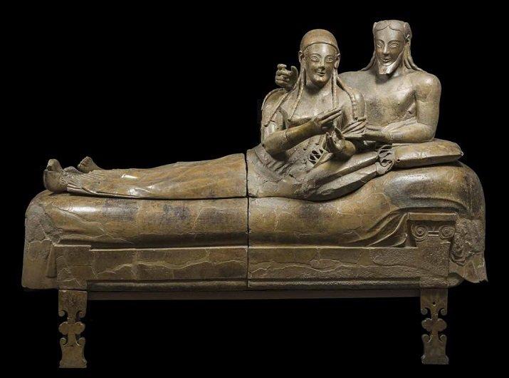 Il sarcofago degli sposi. Scultura funeraria etrusca