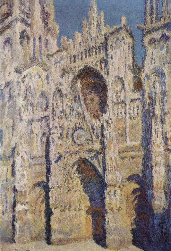 Cattedrale di Rouen di Monet. In pieno sole