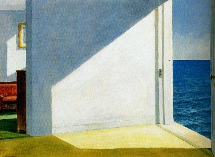 Le stanze sul mare di Hopper