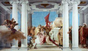 Gli affreschi di Villa Valmarana di Giambattista Tiepolo. Il Sacrificio di Ifigenia