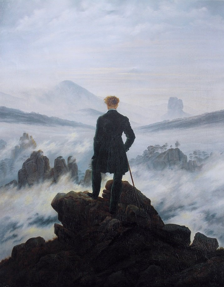 Il sublime il letteratura. Romanticismo