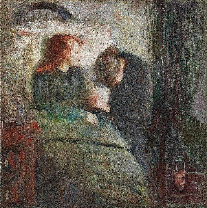 """La fanciulla malata"" di Munch"