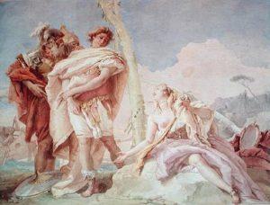 Gli affreschi di Villa Valmarana di Tiepolo. Gerusalemme Liberata