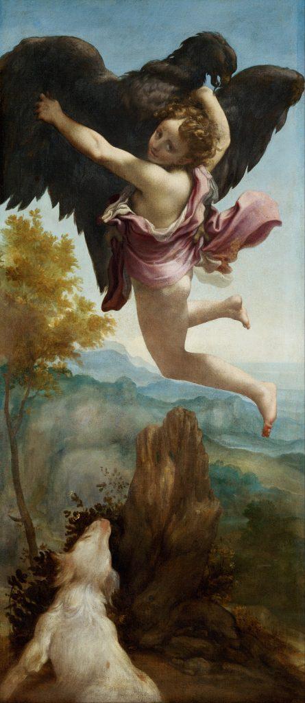 Ganimede e l'Aquila