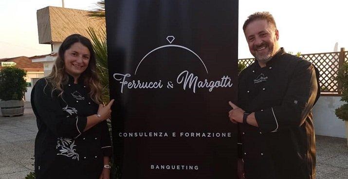 Consulenza gastronomica con gli chef F. Ferrucci e I. Margotti