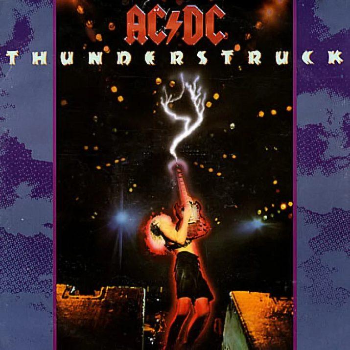 Thunderstruck degli AC/DC. Le stranezze di un brano puro rock!